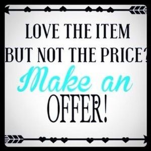 Other - I ❤️ offers 😊